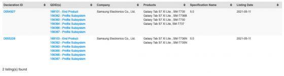 kiedy Samsung Galaxy Tab S7 XL Lite specyfikacja techniczna plotki przecieki