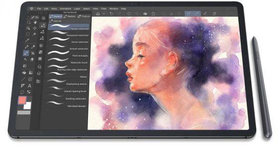 kiedy tablet Samsung Galaxy Tab S8 Ultra cena specyfikacja techniczna plotki przecieki Galaxy S22