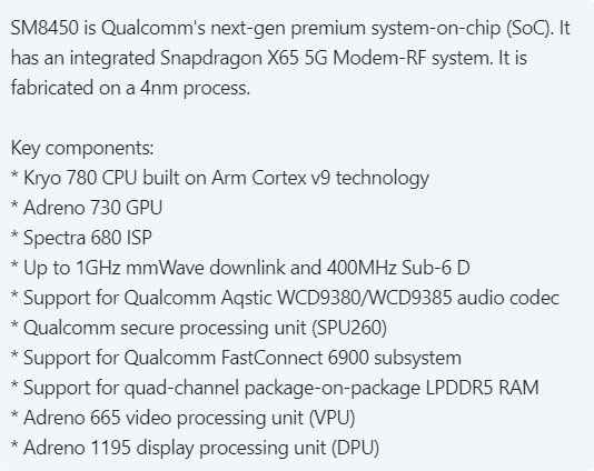 kiedy Qualcomm Snapdragon 900 plotki przecieki wycieki specyfikacja techniczna