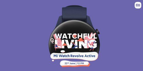 smartwatch Xiaomi Mi Watch Revolve Active cena specyfikacja techniczna kiedy premiera