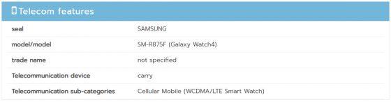 smartwatche Samsung Galaxy Watch 4 Classic smartwatch