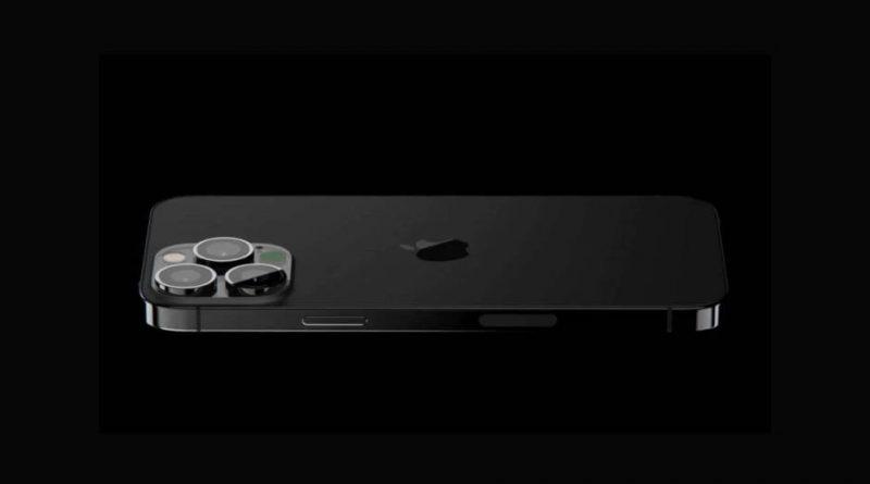 czarny kolor iPhone 13 Pro Space Gray moduł aparatu makiety Luxshare Precision produkcja apple Watch 7 AirPods 3