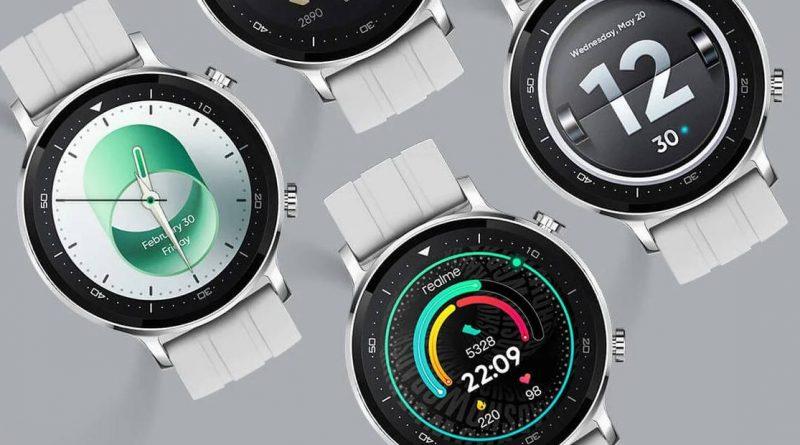 srebrny smartwatch Realme Watch S cena opinie