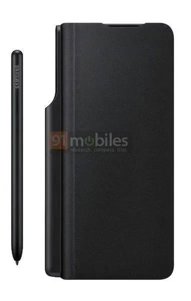 Jakie kolory obudowy Samsung Galaxy Z Fold 3 rendery S Pen