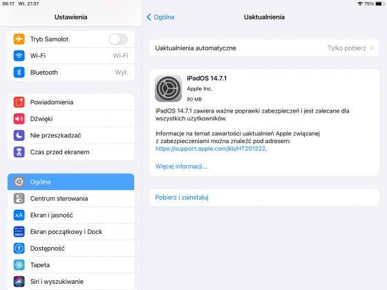 aktualizacja iOS 14.7.1 iPadOS 14.7.1 co nowego nowości Apple iPhone zmiany opinie czy warto instalować