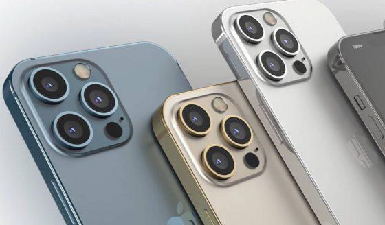 koncept Apple iPhone 13 Pro zmiany wideo kolory obudowy szybkie ładowanie 25 W tryb portretowy wideo ProRes