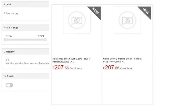 kiedy premiera Nokia G50 5G cena specyfikacja techniczna plotki przecieki