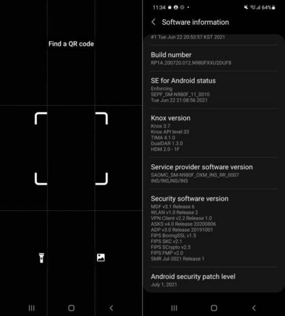 lipcowa aktualizacja Samsung Galaxy S21 S20 Note 20 A51