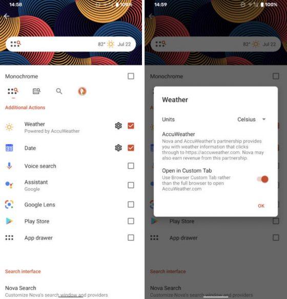 aplikacja Nova Launcher 7 beta co nowego nowości zmiany