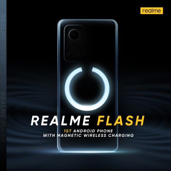kiedy Realme Flash ładowarka jak MagSafe