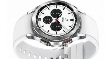 Samsung Galaxy Watch 4 Classic pozuje na oficjalnych renderach