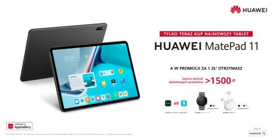 polska premiera Huawei Mate Pad 11 cena promocja opinie specyfikacja techniczna gdzie kupić najtaniej w Polsce