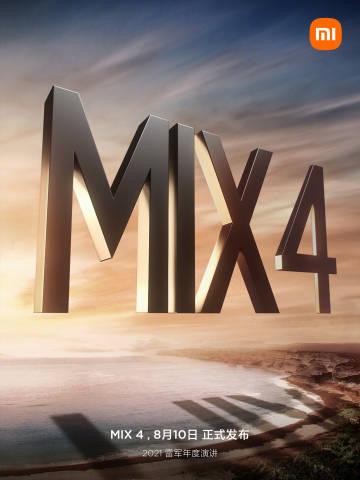 data premiery Xiaomi Mi Mix 4