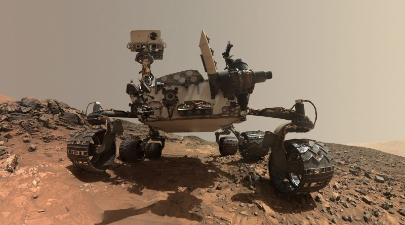 łazik NASA Curiosity Rover panorama Mars