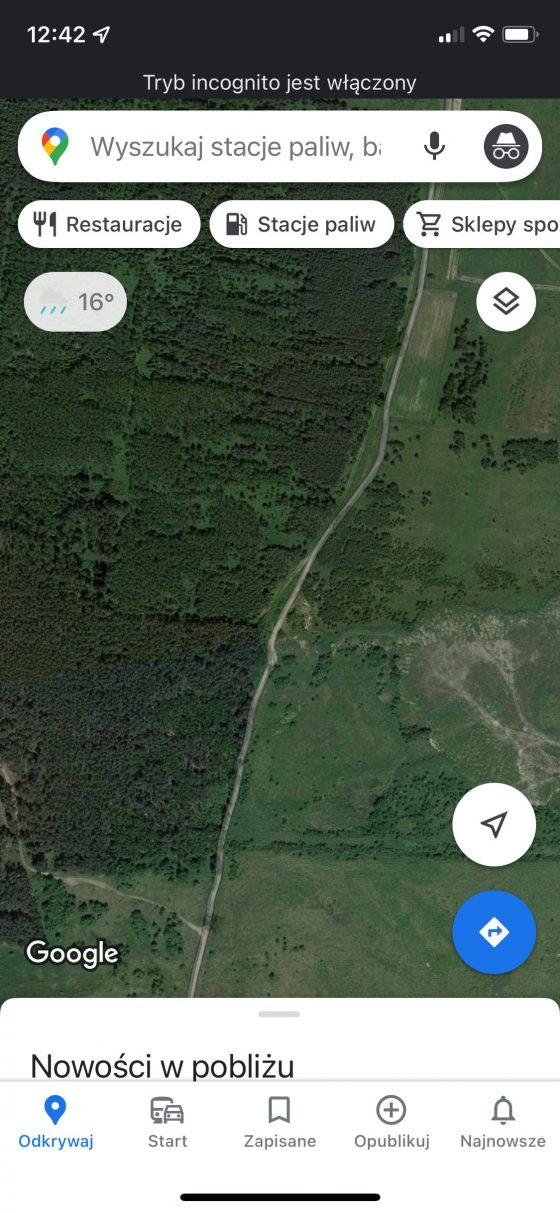 aplikacja Mapy Google Mapa na iOS najlepsze triki sztuczki porady iPhone