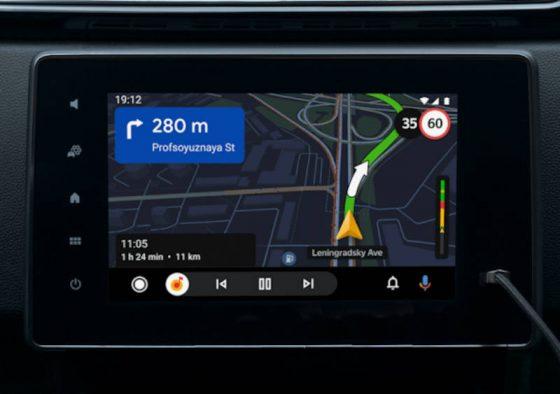 aplikacje Android Auto Mapy Yandex Google Maps