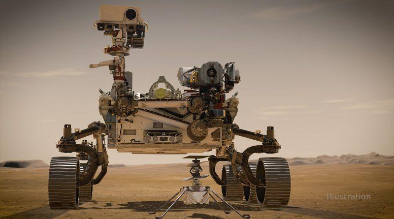 łazik Perseverance Rover Zdjęcia Google Mars
