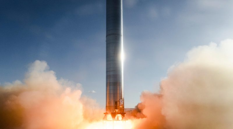 SpaceX Strship booster Super Heavy