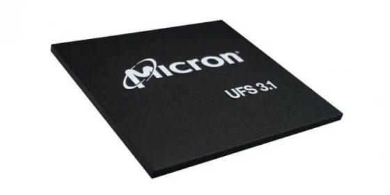 Honor Magic 3 kości Micron UFS 3.1