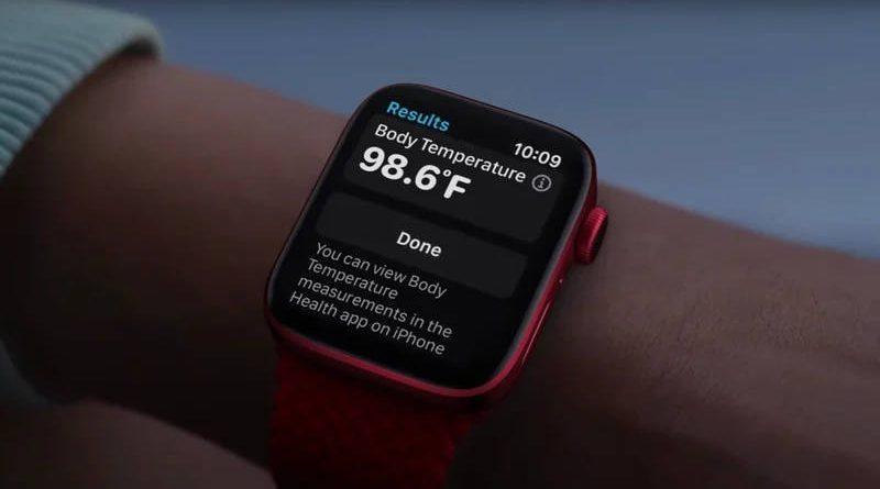 kiedy smartwatche 2022 Apple Watch 8 watchOS 9 elektroniczny termometr