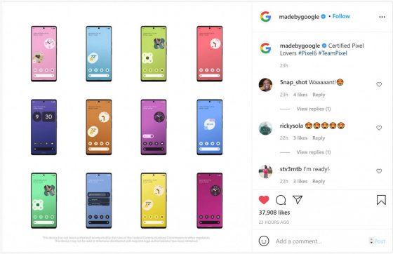 Google Pixel 6 data premiery kiedy
