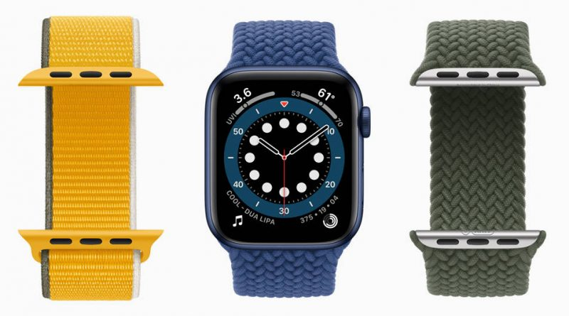 smartwatche Apple Watch 7 paski