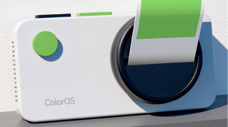 nakładka Oppo ColorOS 12 beta tła