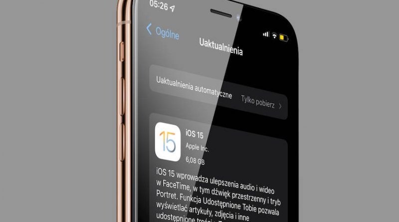 aktualizacja iOS 15 RC iPadOS 15 RC co nowego nowości wykaz zmian Apple iPhone nowe funkcje