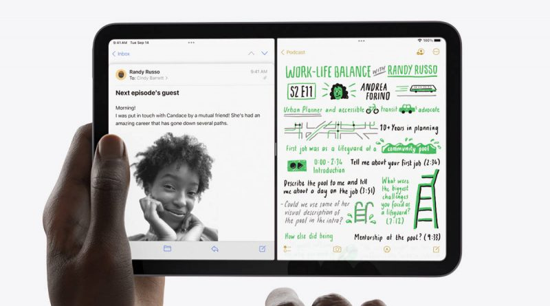 tablet Apple iPad Mini 6 problemy ekran odświeżanie opinie
