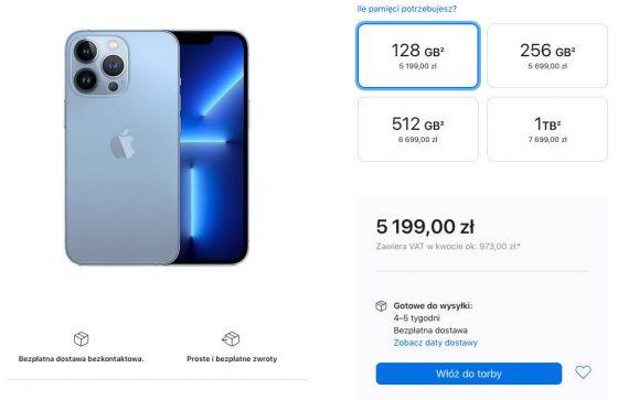 kiedy Apple A15 Bionic iPhone 13 Pro Max AnTuTu benchmarki wydajność dostawy