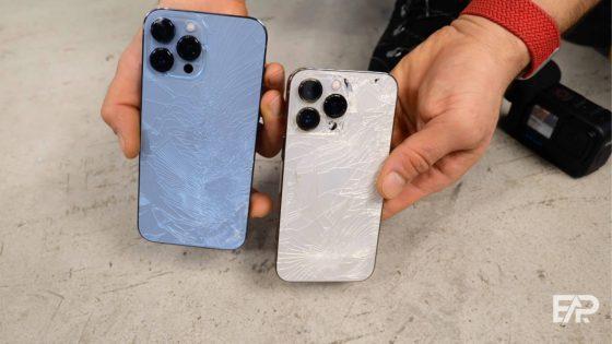 test iPhone 13 Pro Max wytrzymałość opinie
