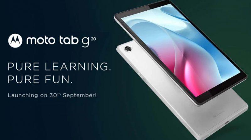 tablet Motorola Moto Tab G20 cena specyfikacja techniczna plotki przecieki