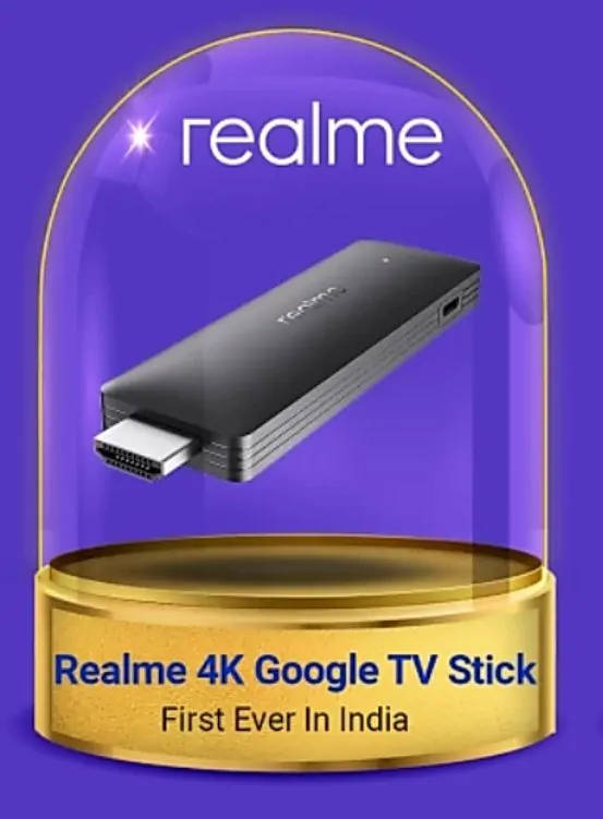 kiedy Realme 4K TV Stick cena Google TV specyfikacja techniczna