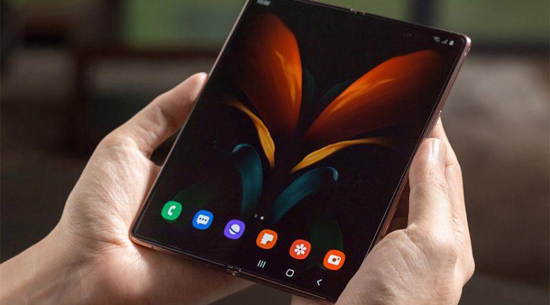 kiedy Samsung Galaxy Z Fold 4 patenty składany smartfon 2022 plotki przecieki