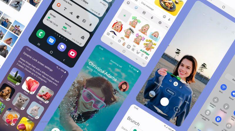 aktualizacja One UI 4.0 beta 2 Samsung Galaxy motywy Material You