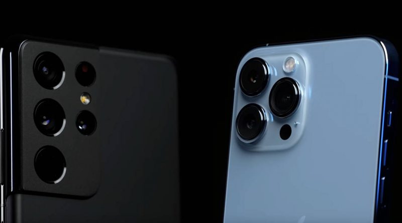 test iPhone 13 Pro Max vs Samsung Galaxy S21 Ultra