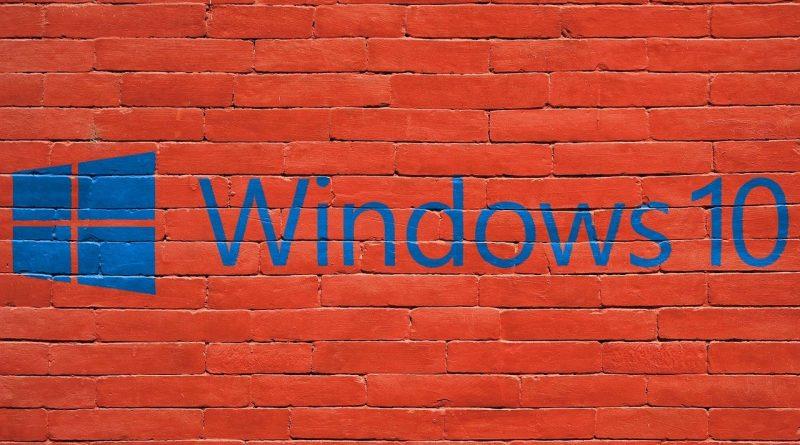 wady Microsoft Windows 10 Home
